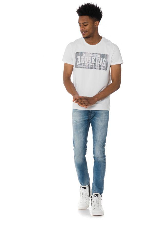 Tee Shirt Homme Redskins ALPACINO CALDER WHITE