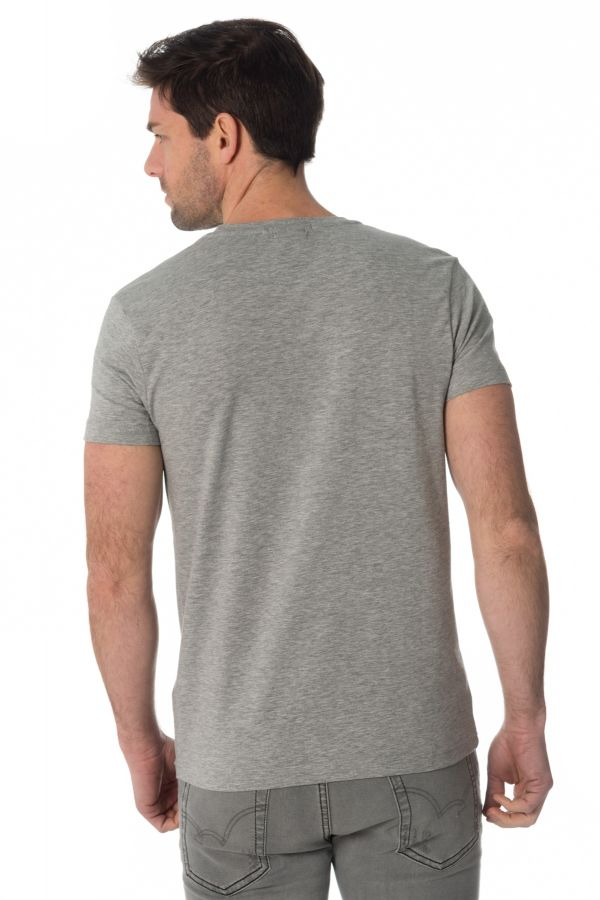 Tee Shirt Homme Redskins RICH CALDER GREY CHINE