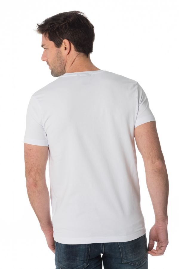 Tee Shirt Homme Redskins RICH CALDER WHITE