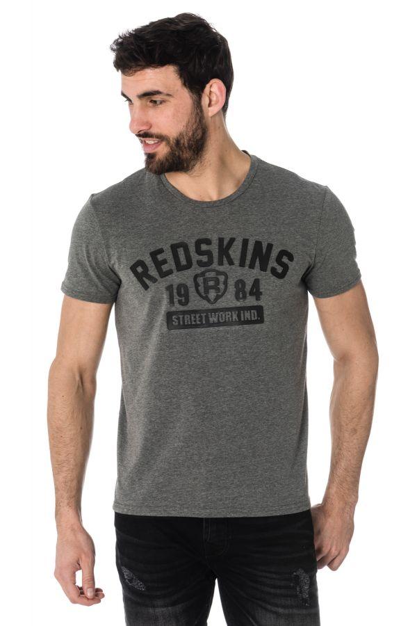 Tee Shirt Homme Redskins BALLTRAP CALDER ANTHRACITE CHINE