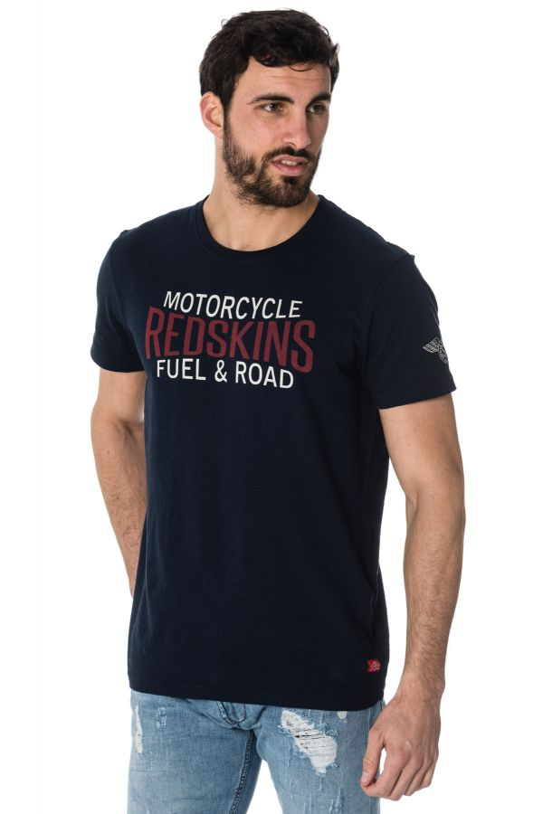 Tee Shirt Homme Redskins FUEL LAHORE NAVY BLUE