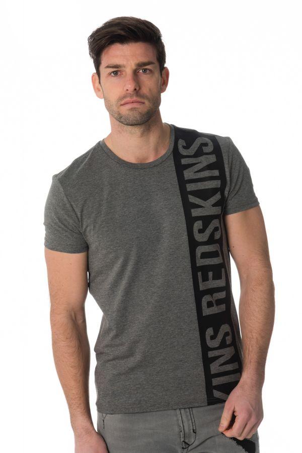 Tee Shirt Homme Redskins RAFTING CALDER ANTHRACITE