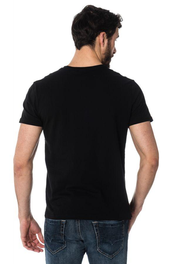 Tee Shirt Homme Redskins PLAYER HANDY BLACK