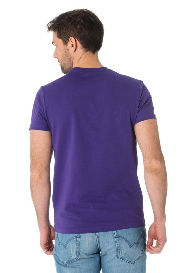 Tee Shirt Homme Redskins PLAYER HANDY PURPLE