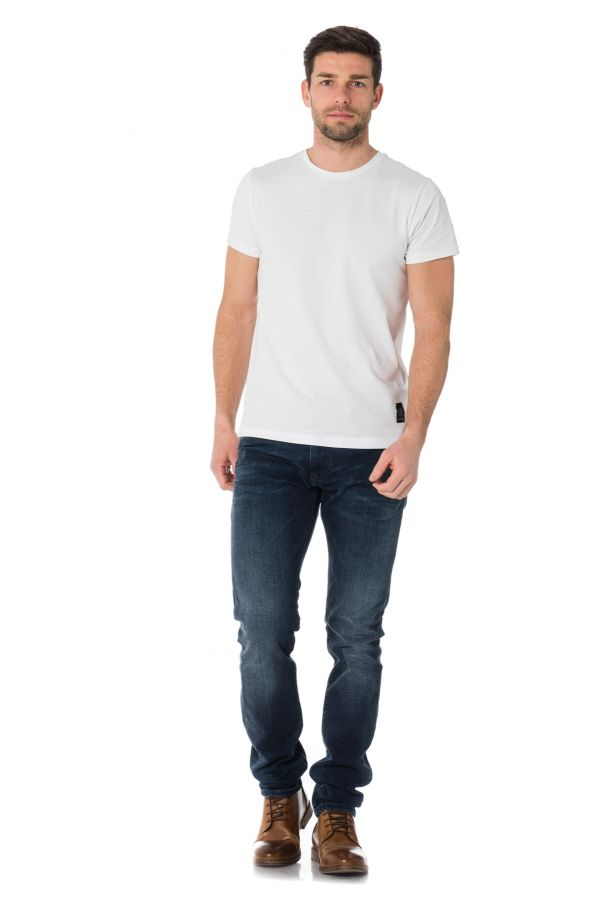 Tee Shirt Homme Redskins ZICA HANDY WHITE