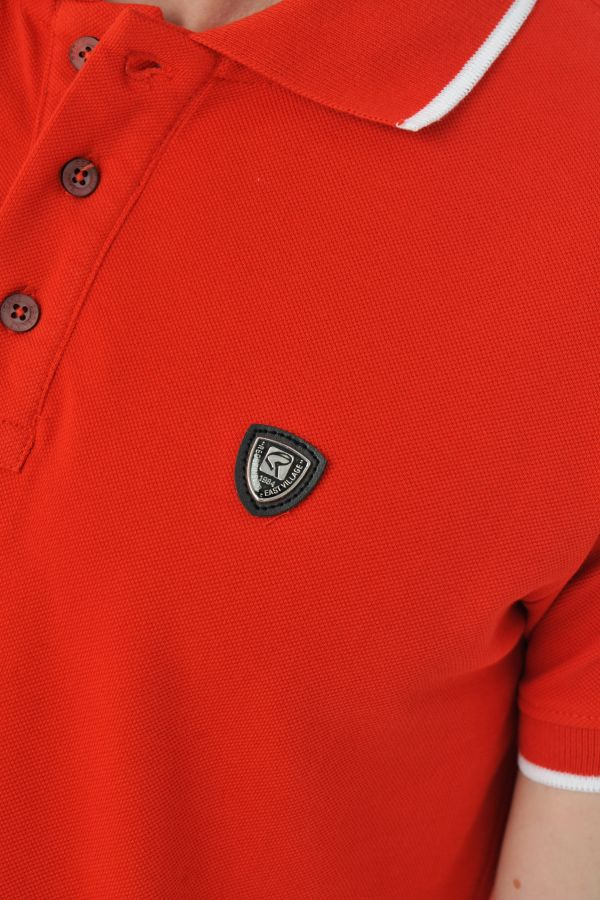Tee Shirt Homme Redskins APOLON BRIDGE RED