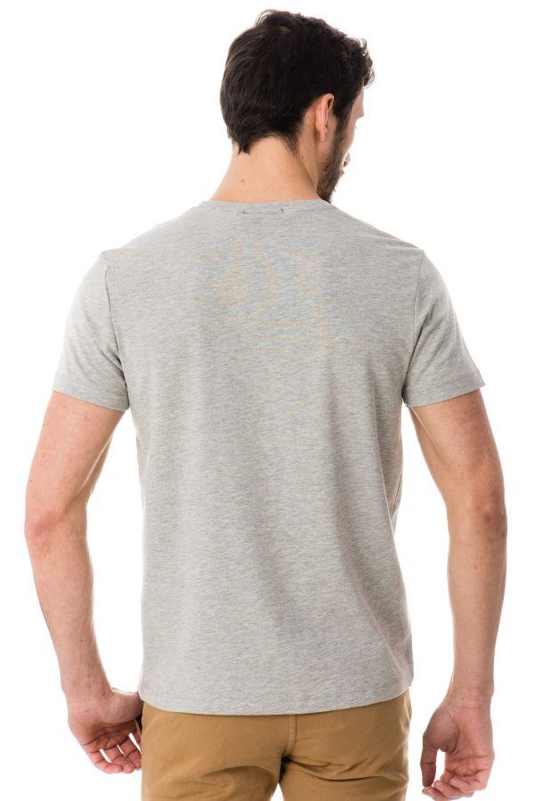 Tee Shirt Homme Redskins WASABI CALDER GRIS CHINE