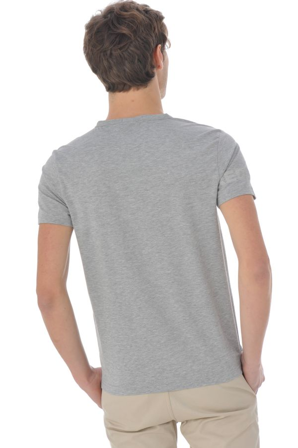 Tee Shirt Homme Redskins ARES WARNER GREY CHINE P16