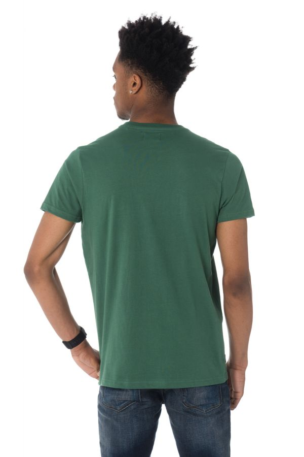 Tee Shirt Homme Schott TSCAMPUS GREEN