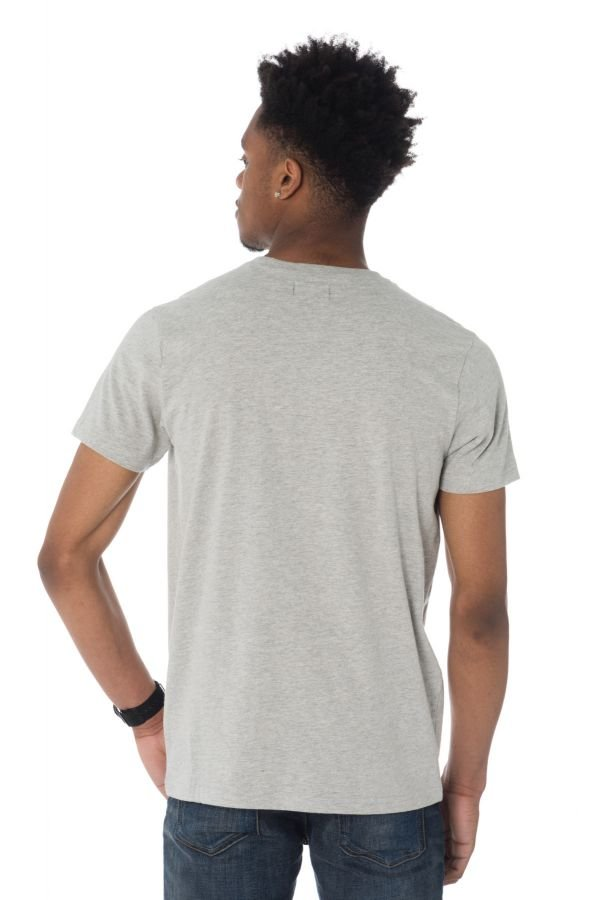 Tee Shirt Homme Schott TSCAMPUS HEATHER GREY