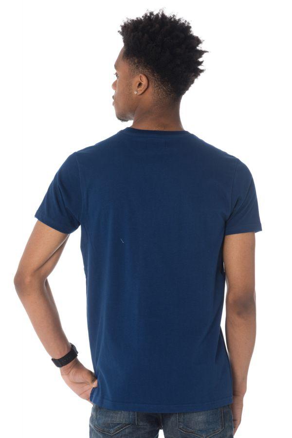 Tee Shirt Homme Schott TSCAMPUS BLUE