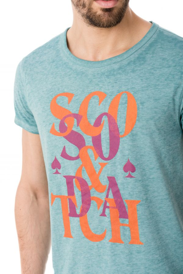 Tee Shirt Homme Scotch and Soda 136494 1151