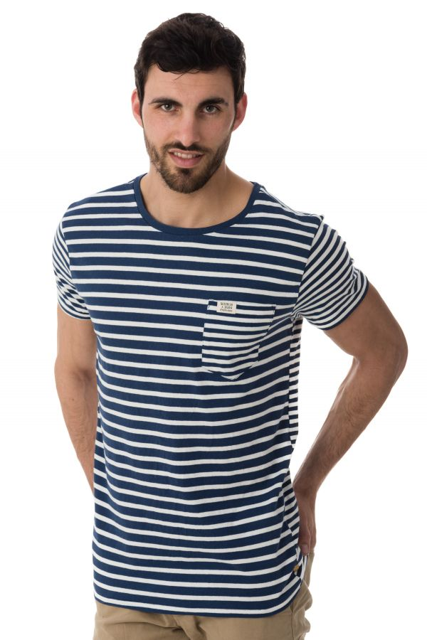 Tee Shirt Homme Scotch and Soda 136495 0217