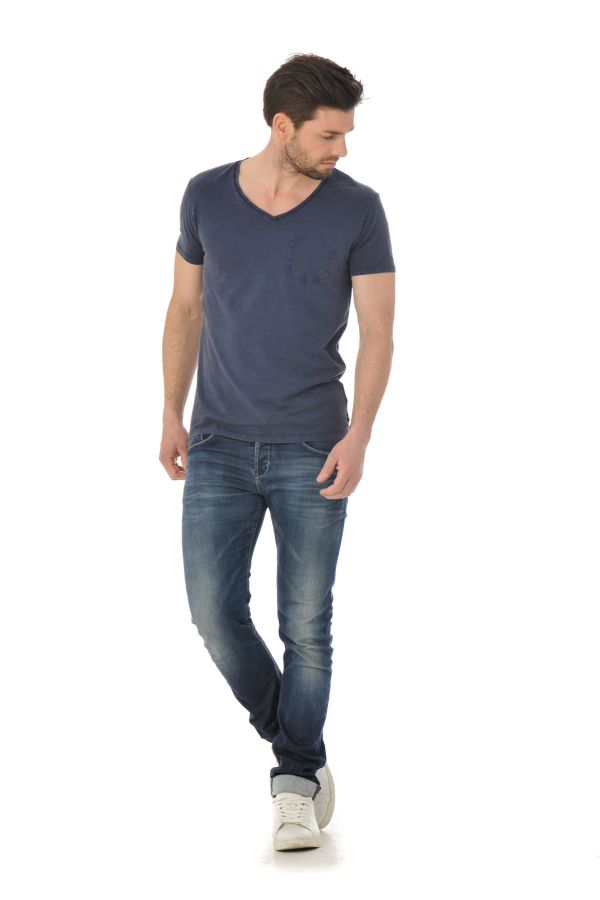 Tee Shirt Homme Scotch and Soda 130869 57