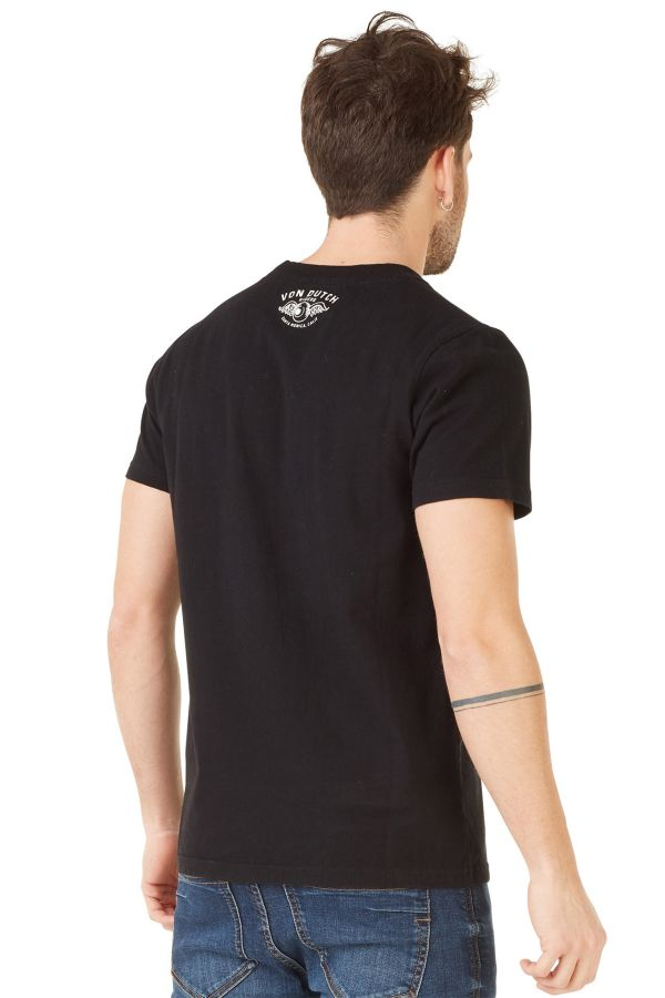 Tee Shirt Homme Von Dutch T SHIRT RAGS NOIR