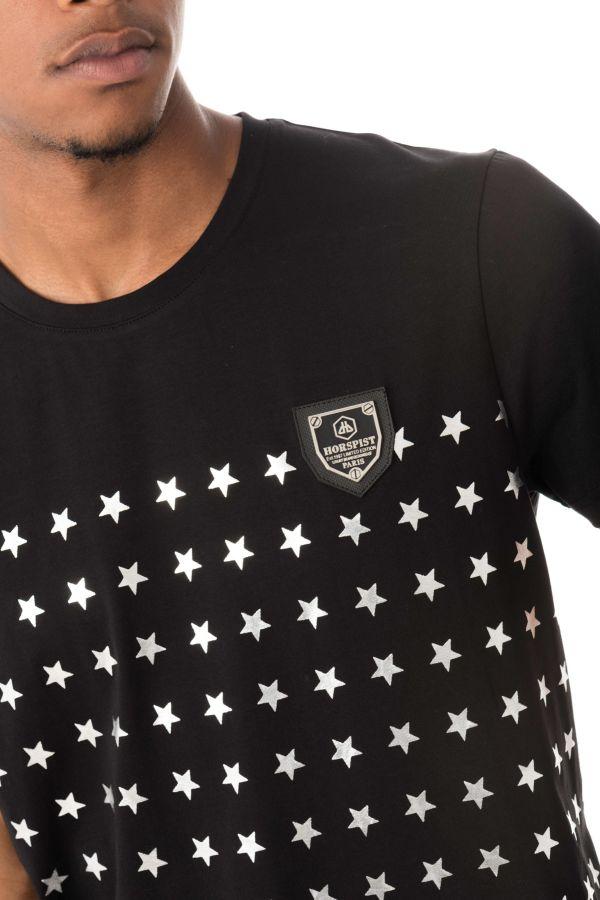 Tee Shirt Homme horspist REMI BOOSTER BLACK/SILVER