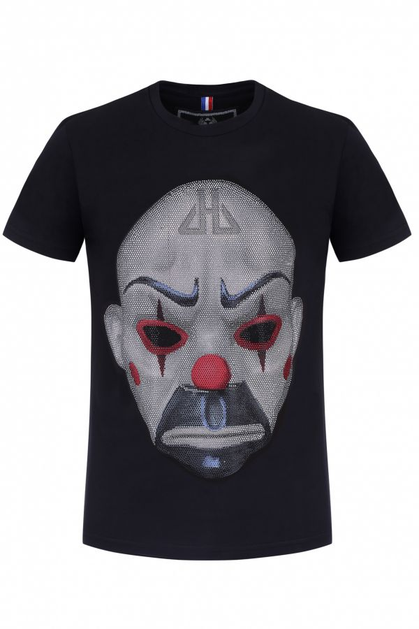 Tee Shirt Homme horspist GIBRALTAR M500 BLACK - Cuir-city.com 0c567cf56c67