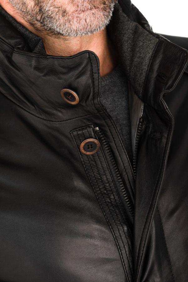 Cuir Nappa Glove Homme 999 Bugatti 5622 Black Veste qUw0RPw