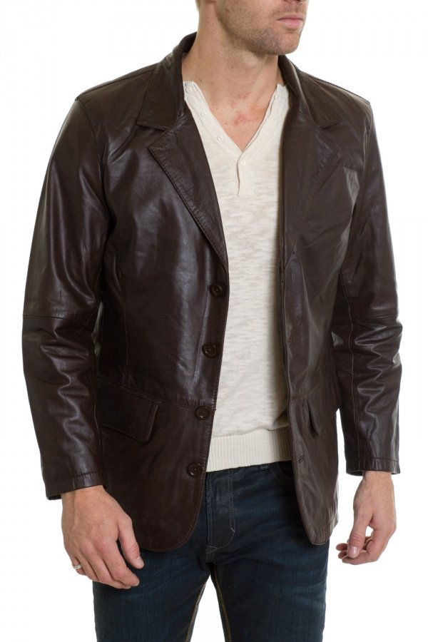 Veste Homme Cityzen RECIFE BROWN