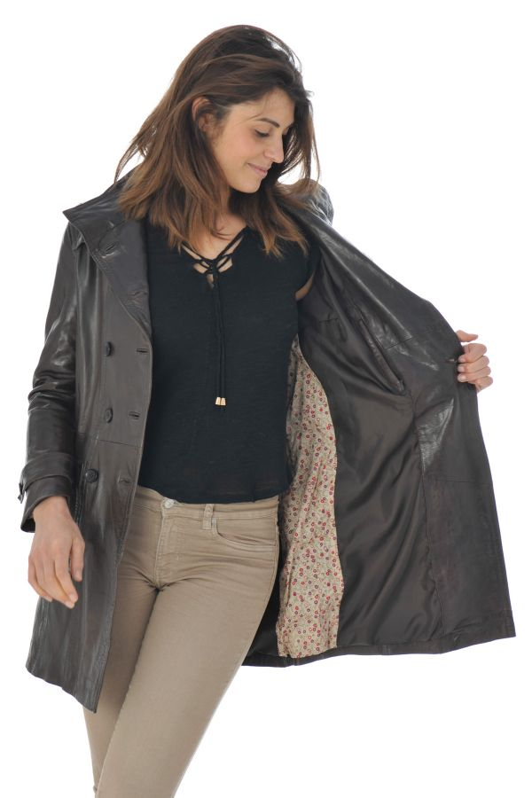 Veste Femme Daytona MORGANE SHEEP AOSTA REDDISH BROWN