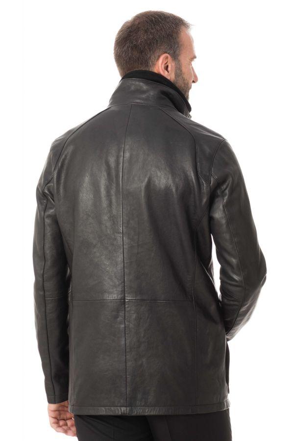 Veste Homme Daytona CLINTON SHEEP POLO BLACK
