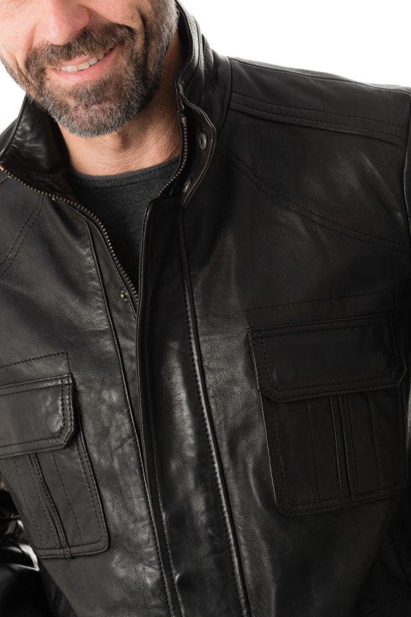 Veste Homme Daytona LANTERN SHEEP POLO BLACK