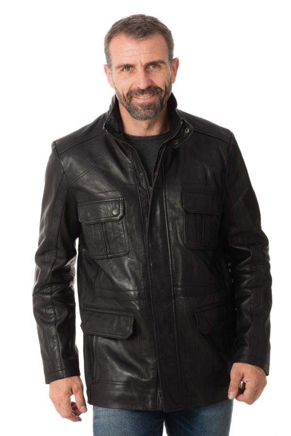 Veste Homme Daytona LANTERN SHEEP POLO BLACK