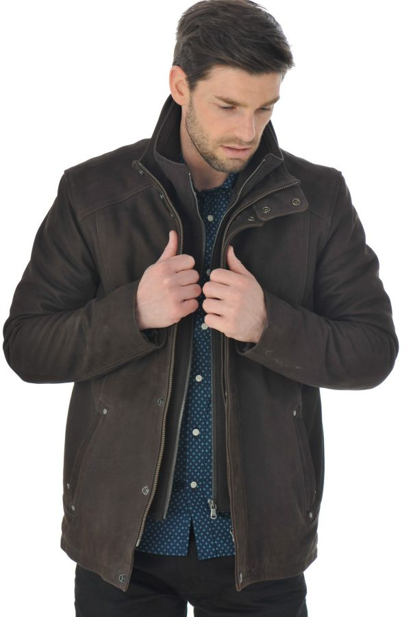 Veste Homme Daytona BLAYTON IC COW MADISON BROWN