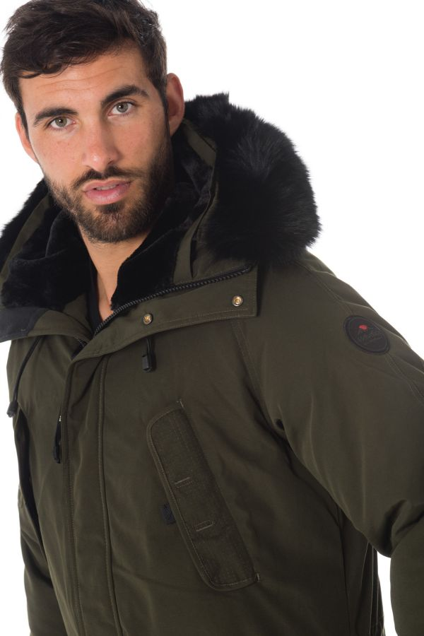 Veste Homme Helvetica EXPEDITION MEN DARK EDITION KAKI