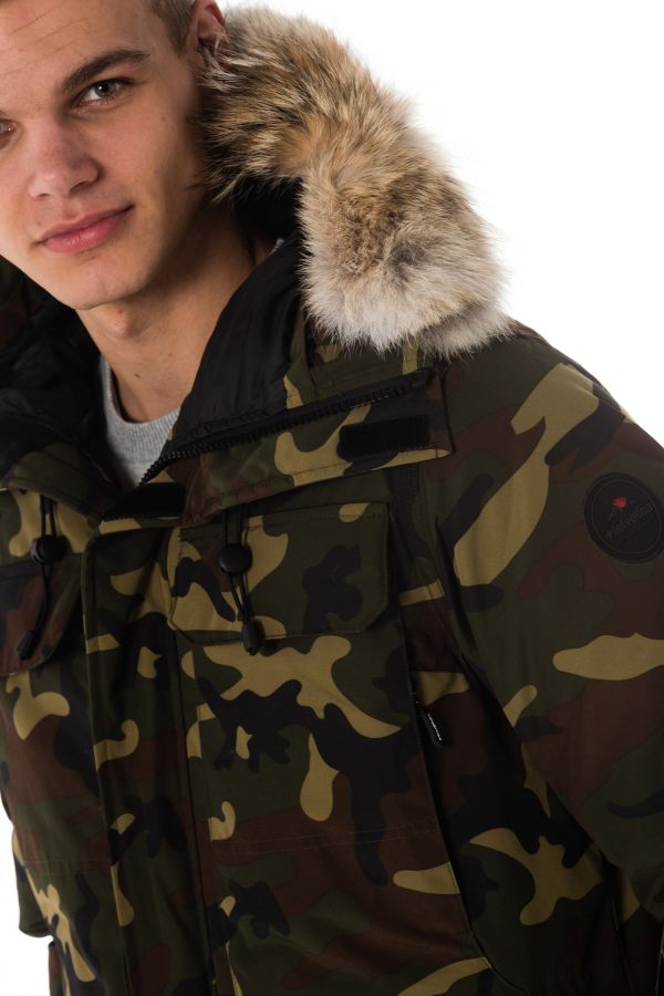 Veste Homme Helvetica XTREM COYOTE EDITION CAMO GREEN 2K20