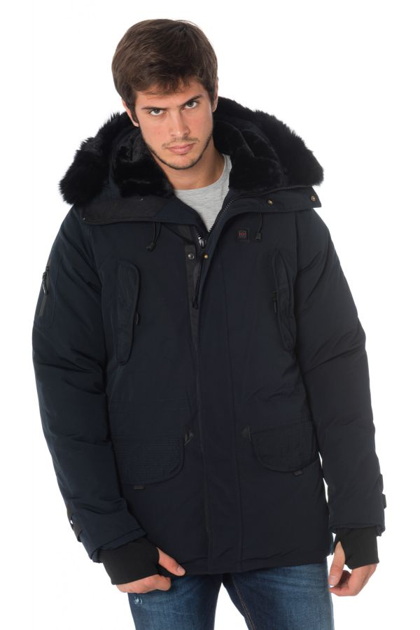 Veste Homme Helvetica EXPEDITION MEN EWARM DARK EDITION NAVY