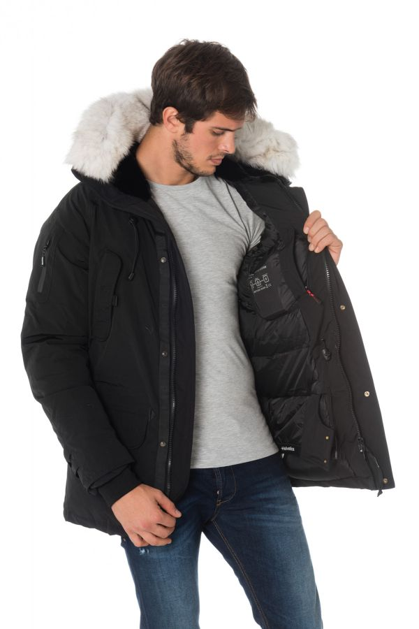 Veste Homme Helvetica EXPEDITION MEN EWARM PURE EDITION BLACK