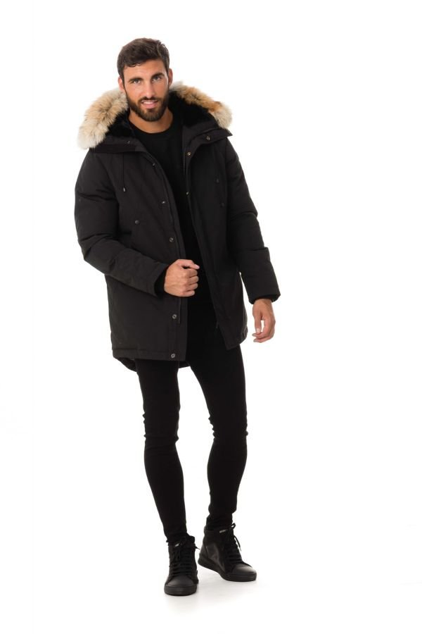 Veste Homme Helvetica MICHIGAN URBAN EDITION NOIR