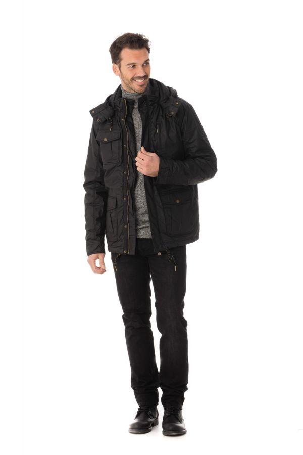 Veste Homme Kaporal BARKA BLACK H16
