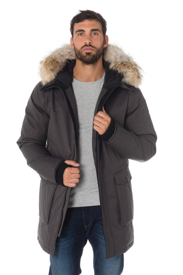 Veste Homme Nobis YVES CROSSHATCH STEEL GREY