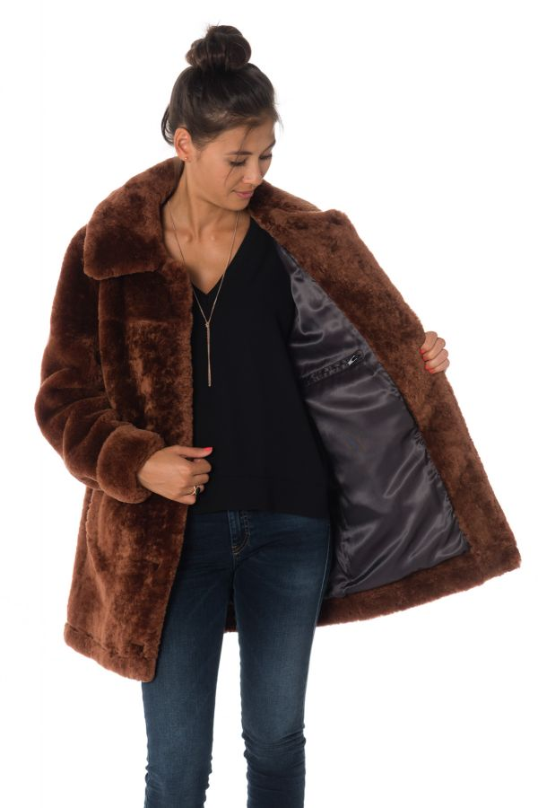 Veste Femme Oakwood MADISON RUST 552