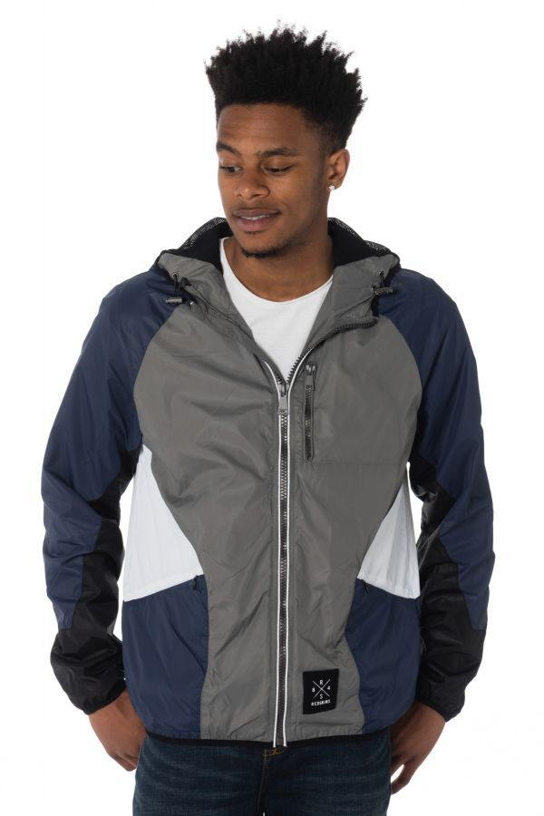 Blouson Homme Redskins AIKMAN TAMPA SILVER/NAVY