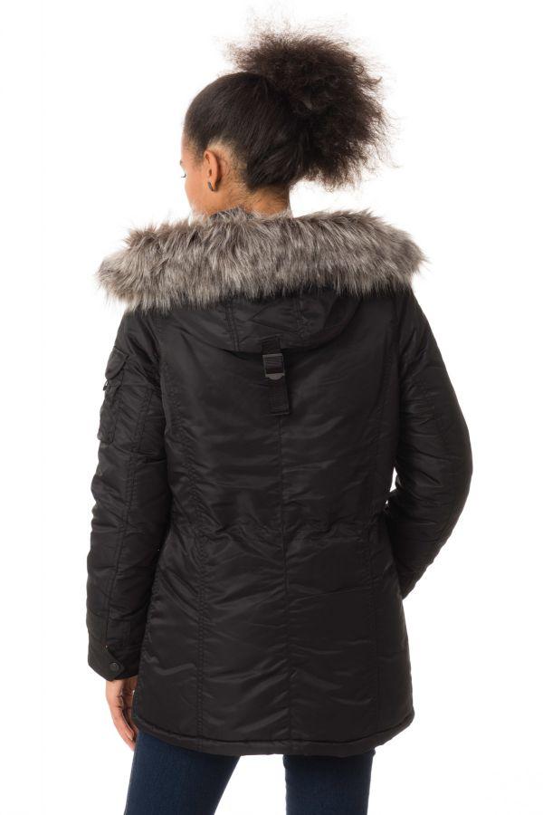Veste Femme Schott JKTPEARL2W BLACK