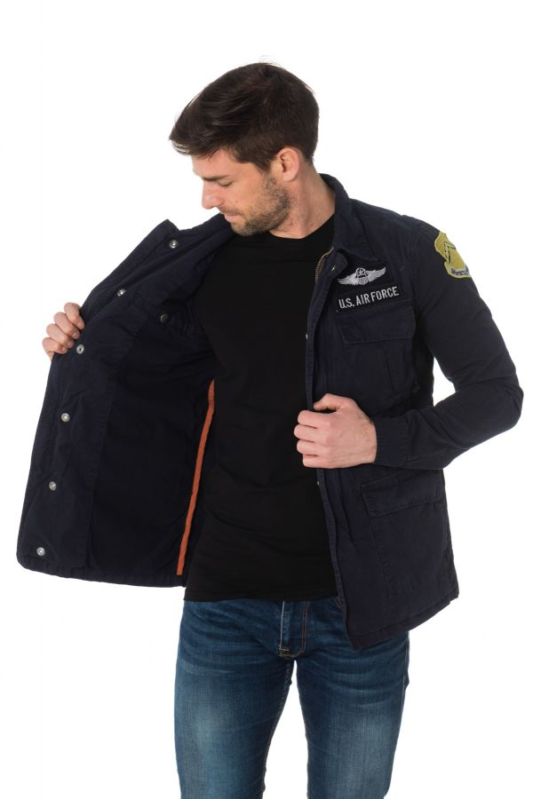 Veste Homme Schott WILLIAMS NAVY
