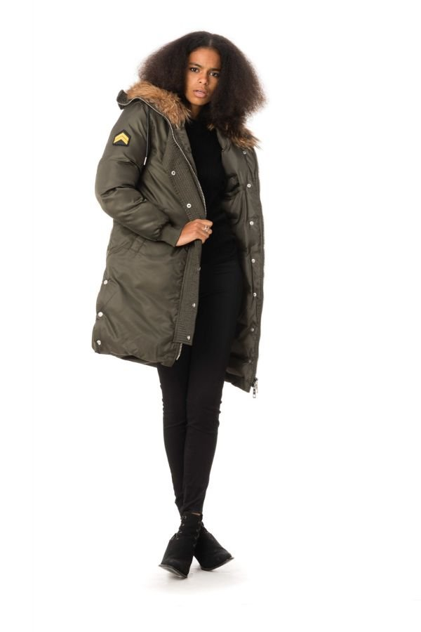 Veste Femme The New Designers JOY GIRL KAKI
