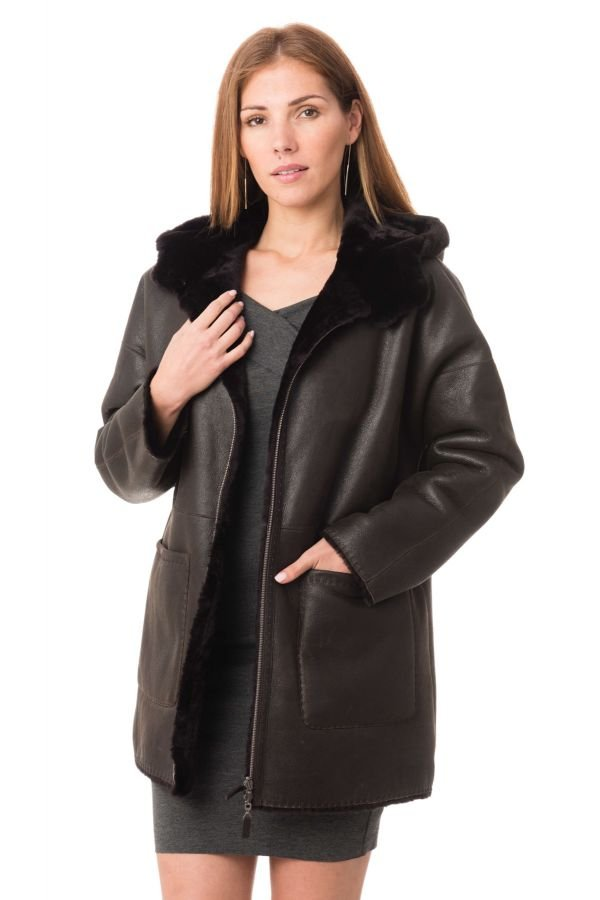 Veste Femme Ventcouvert DRUPI BURNISHED 560 BROWN