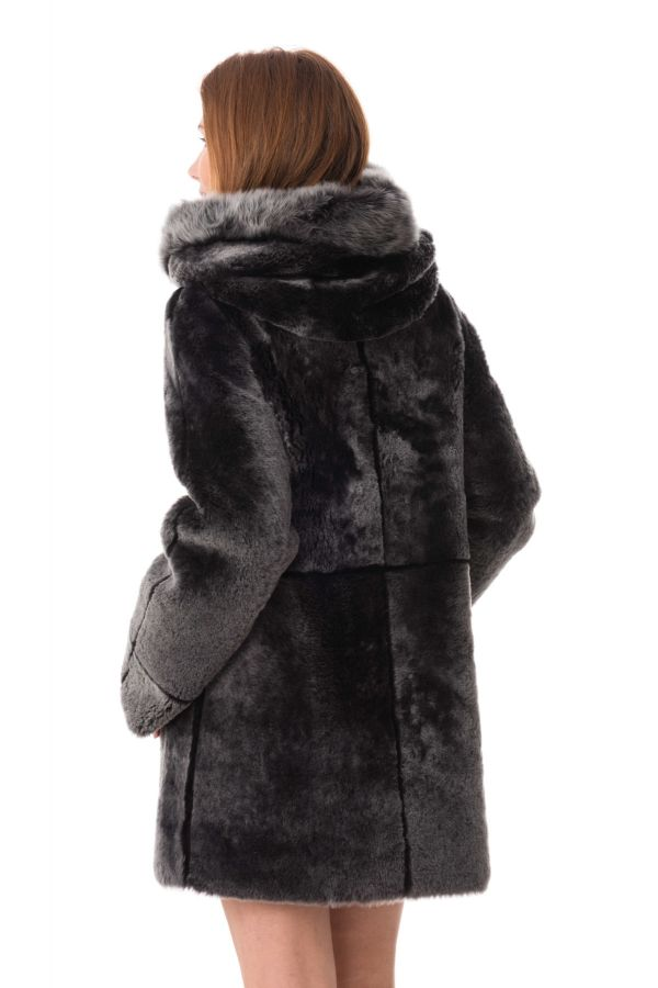 Femme Merino Ventcouvert Black Cuir 410 Veste Brisa Pesca dR4EqdSw