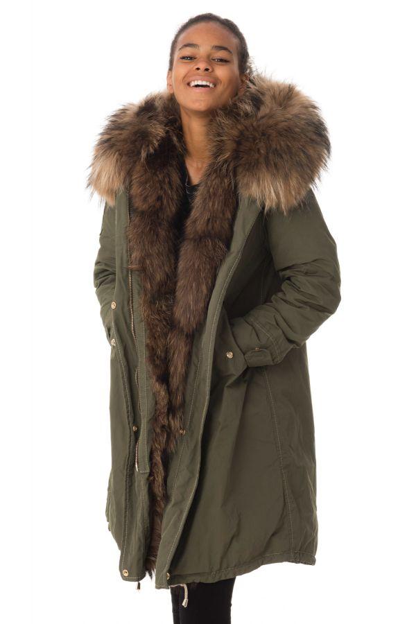 Femme Veste Tex By Fur Cuir Kap Wild Salvia amp; One Clo Arctic Flo TxaAdq4rxw