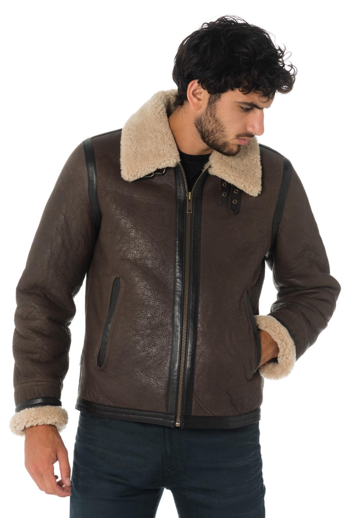 magasin en ligne dernier style beau Blouson Homme Chevignon BOMB CACAO - Cuir-city.com – spécialiste du cuir