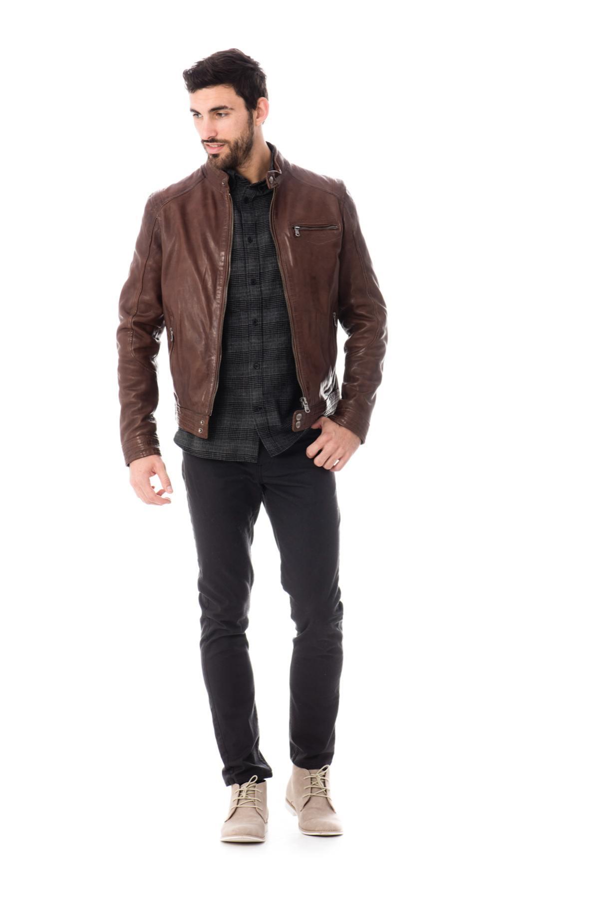 buy online a6265 5b831 big Blouson-Daytona-Blouson-en-cuir-Daytona-pour-Homme -Bison-file-583dacb918f85.jpg