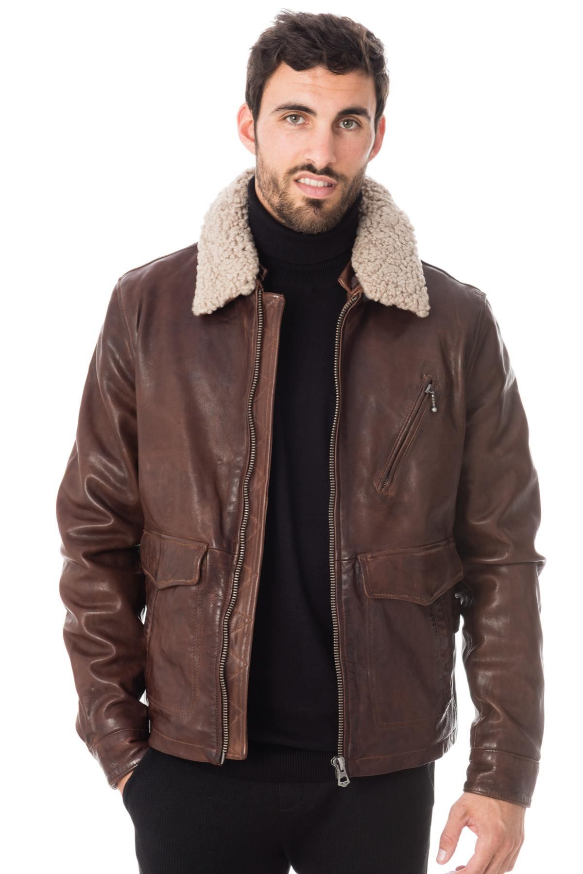 shades of outlet hot sale online Blouson Homme Daytona BENTLEY SHEEP RACER BISON - Cuir-city.com –  spécialiste du cuir