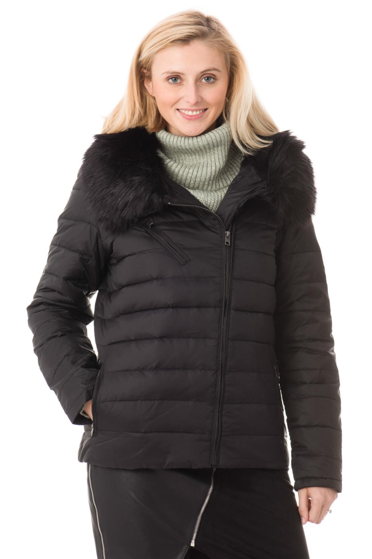 Blouson Femme Schott JKTPERFFUR1W BLACK Cuir – spécialiste du cuir