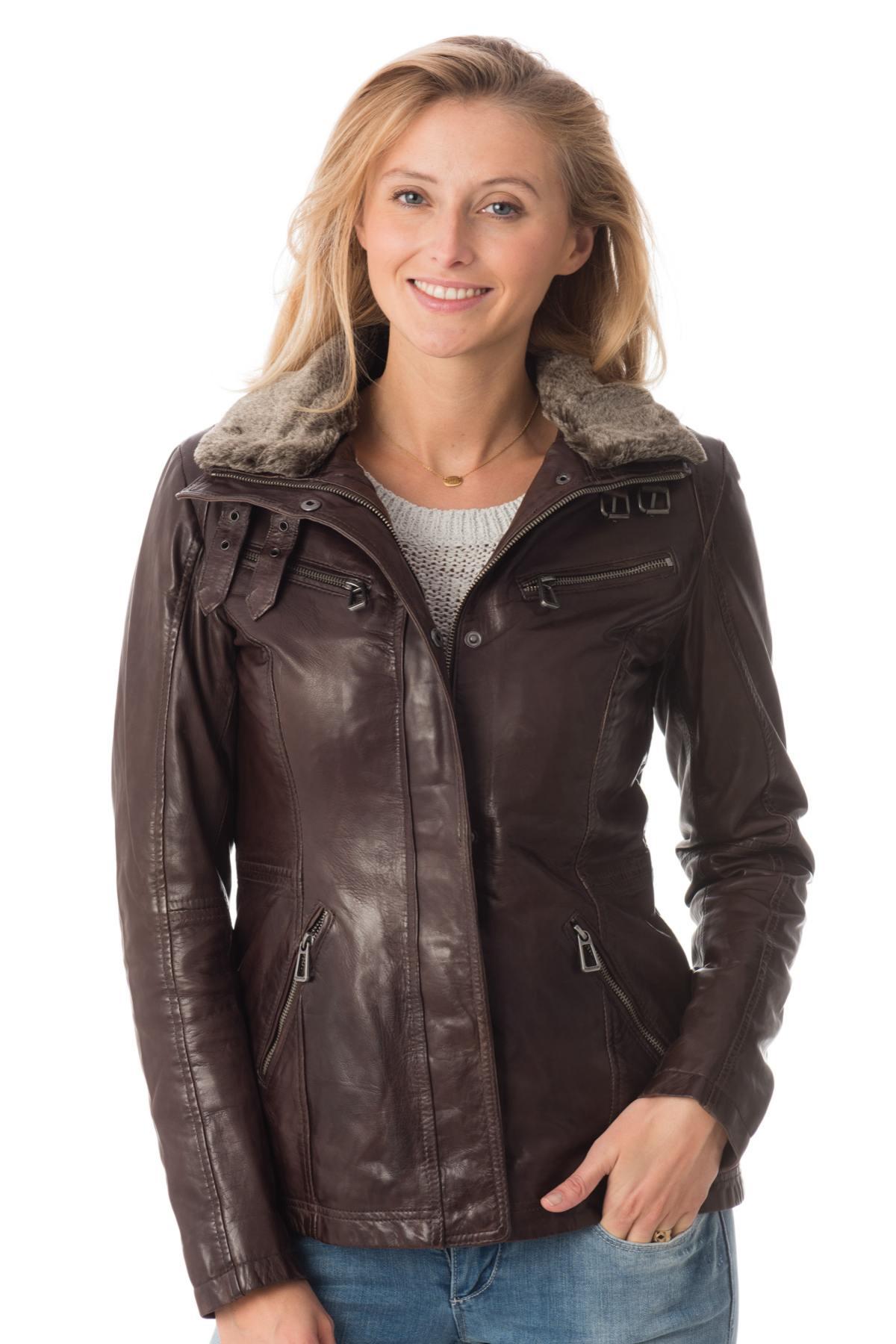 Veste cuir femme le bon coin