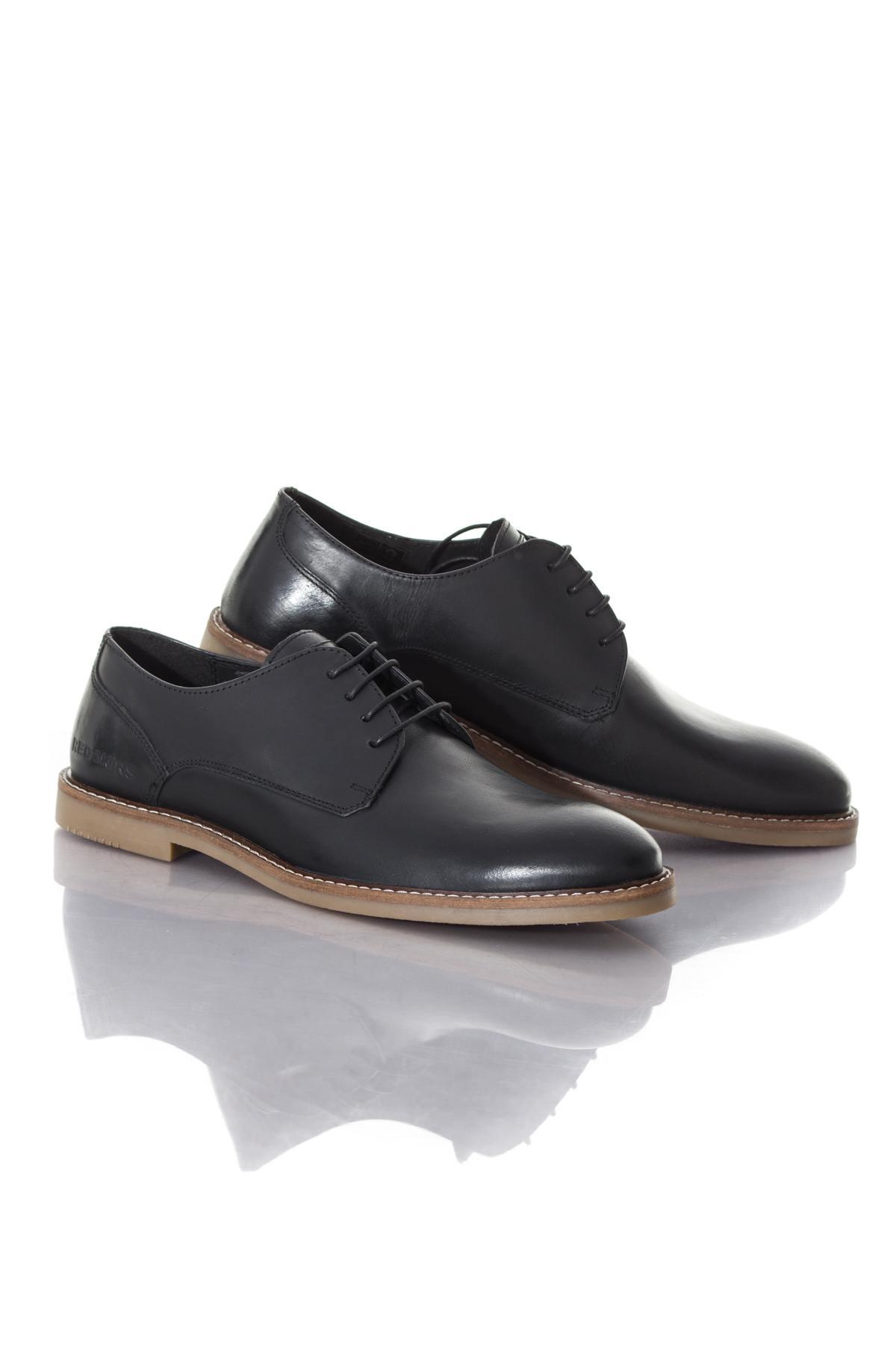 chaussures homme chaussures redskins wandor noir cuir. Black Bedroom Furniture Sets. Home Design Ideas