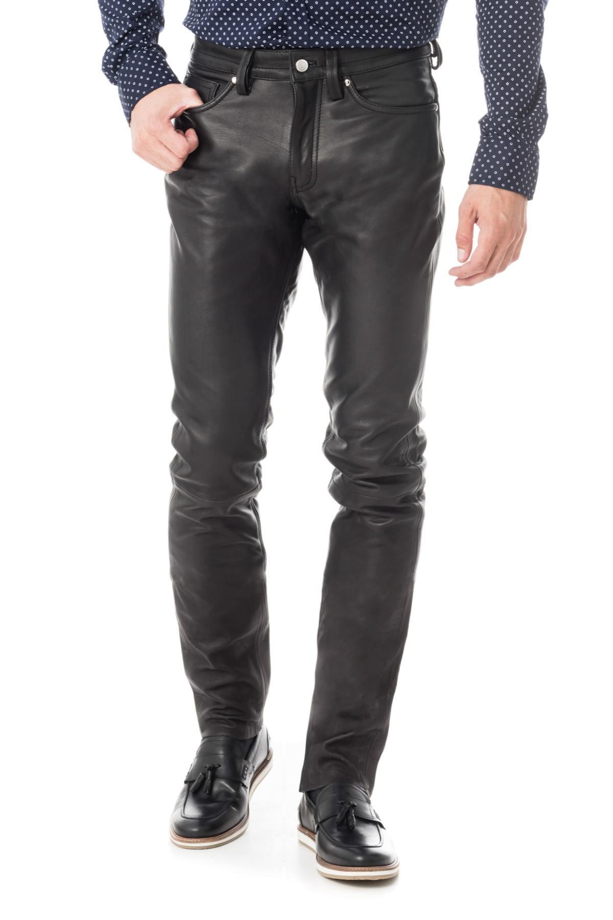 7e7b3871854 Pantalon Homme Cityzen NAPLES BLACK - Cuir-city.com